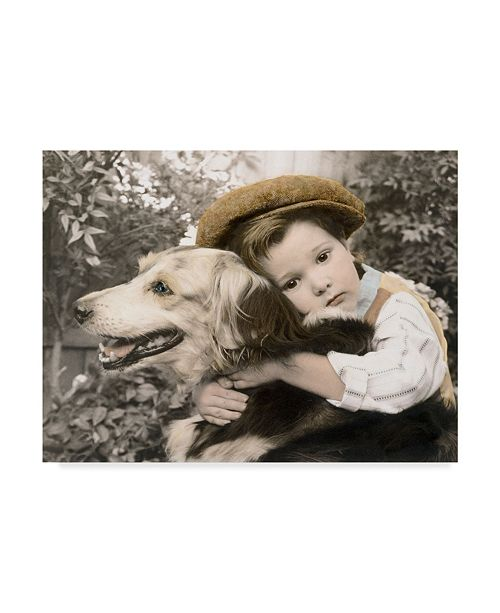 "Trademark Global Sharon Forbes 'One Last Hug' Canvas Art - 18"" x 24"""