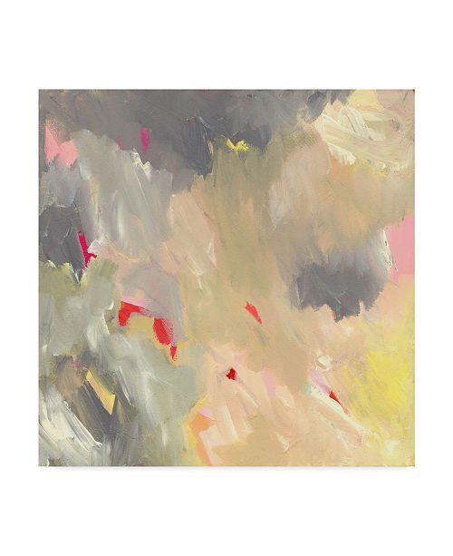 """Trademark Global Jennifer Mccully 'The Storm - Abstract' Canvas Art - 14"""" x 14"""""""