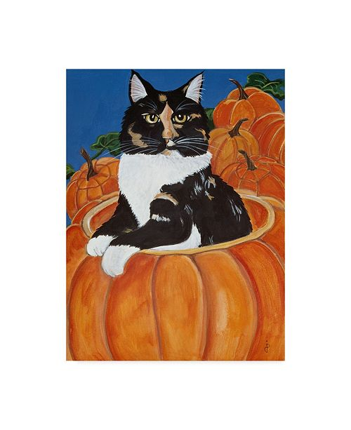 "Trademark Global Jan Panico 'Matisse In A Pumpkin' Canvas Art - 24"" x 32"""