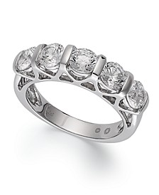Certified Five-Stone Diamond Ring in 14k White Gold (2 ct. t.w.)