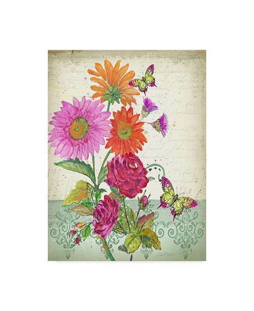 """Trademark Global Jean Plout 'Summertime Botanicals 4' Canvas Art - 24"""" x 32"""""""
