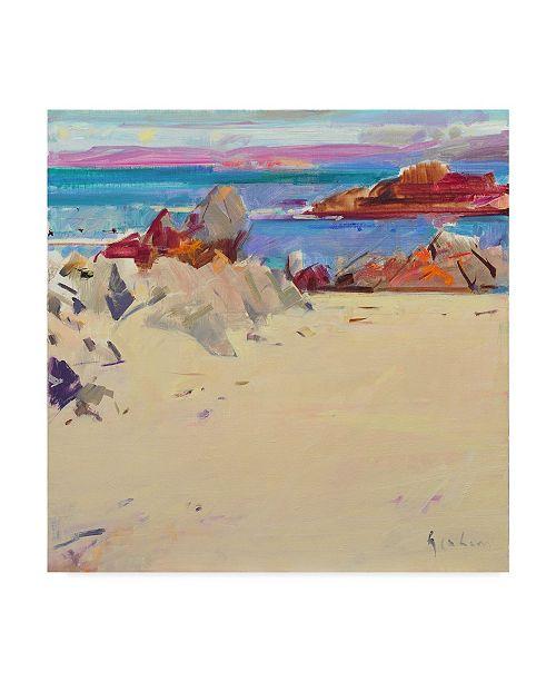 "Trademark Global Peter Graham 'Isle Of Iona' Canvas Art - 18"" x 18"""