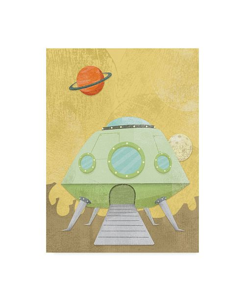 "Trademark Global Michael Murdock 'Kids Alien' Canvas Art - 18"" x 24"""