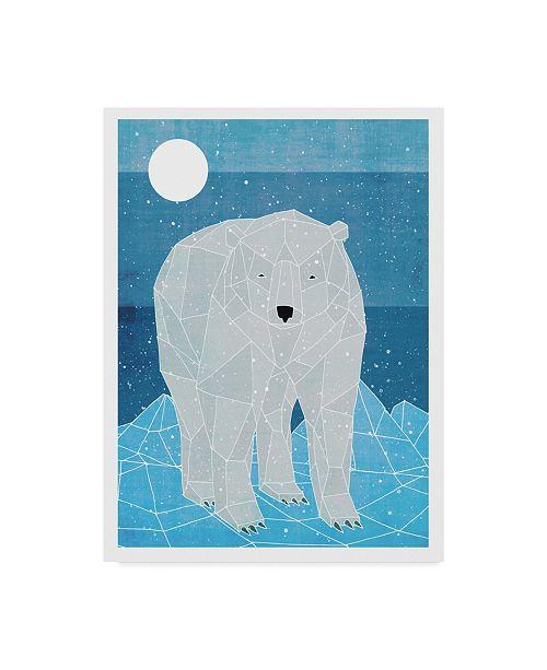 """Trademark Global Ric Stultz 'Polar Explorer' Canvas Art - 14"""" x 19"""""""