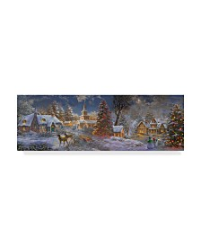 "Nicky Boehme 'Stillness Of Christmas' Canvas Art - 19"" x 6"""