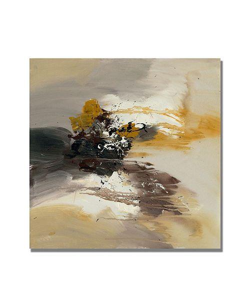 """Trademark Global Rio 'Abstract II' Canvas Art - 18"""" x 18"""""""