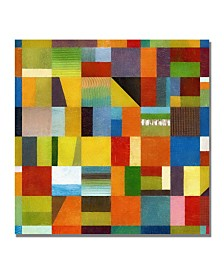 "Michelle Calkins 'Eye Candy 64' Canvas Art - 18"" x 18"""