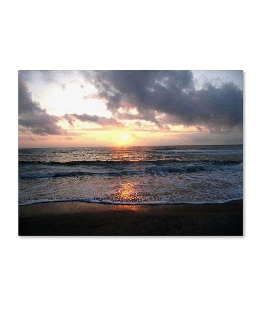 "Trademark Global Monica Fleet 'Gentle Rise' Canvas Art - 19"" x 14"""