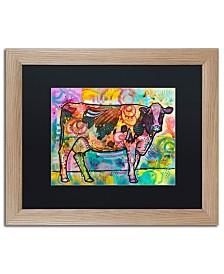 "Dean Russo 'Cow' Matted Framed Art - 20"" x 16"""
