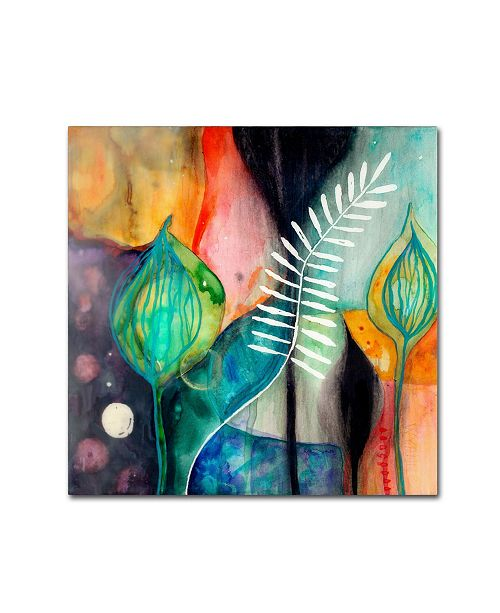"Trademark Global Wyanne 'Collectedness' Canvas Art - 24"" x 24"""