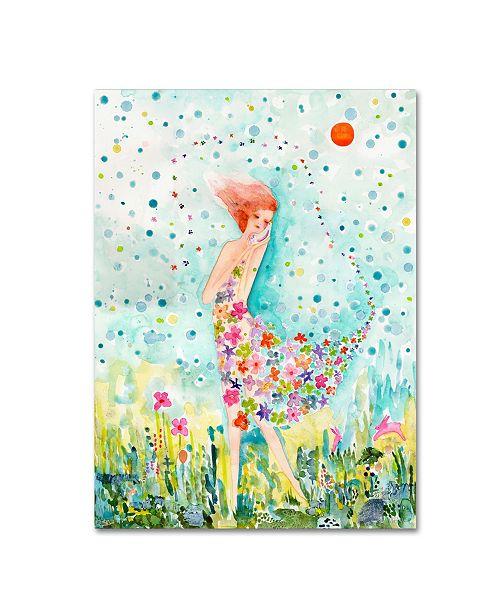 """Trademark Global Wyanne 'Release' Canvas Art - 35"""" x 47"""""""