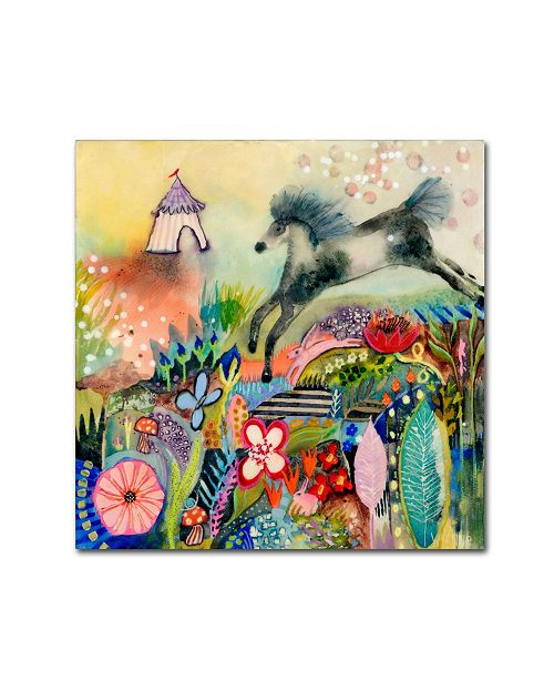 """Trademark Global Wyanne 'The Great Escape' Canvas Art - 35"""" x 35"""""""