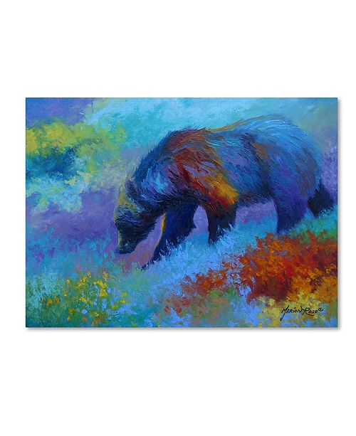 """Trademark Global Marion Rose 'Denali Grizzly' Canvas Art - 35"""" x 47"""""""