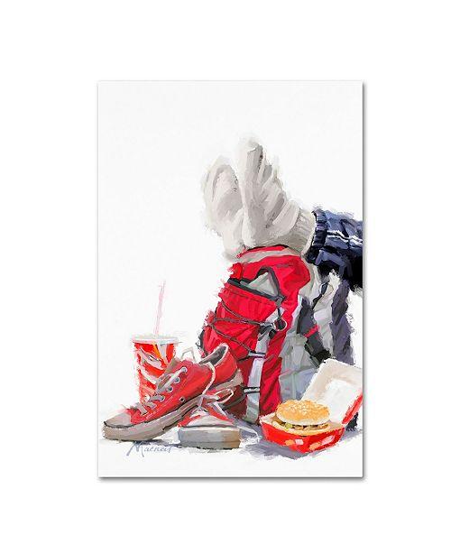 "Trademark Global The Macneil Studio 'Lunchtime' Canvas Art - 22"" x 32"""