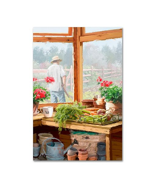 "Trademark Global The Macneil Studio 'Potting Shed' Canvas Art - 22"" x 32"""