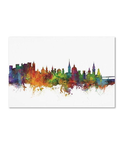 "Trademark Global Michael Tompsett 'Salzburg Austria Skyline II' Canvas Art - 22"" x 32"""