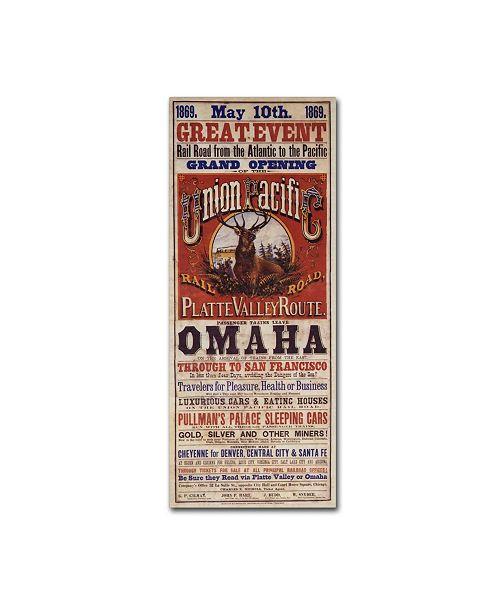 Trademark Global Vintage Apple Collection 'Omaha' Canvas