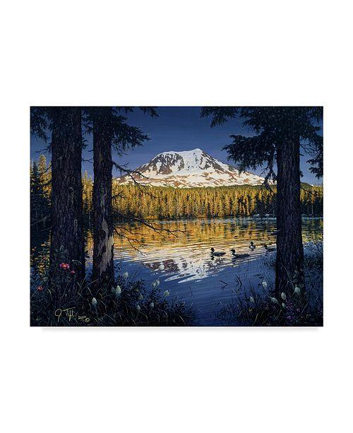 "Trademark Global Jeff Tift 'Mt Adams' Canvas Art - 24"" x 32"""