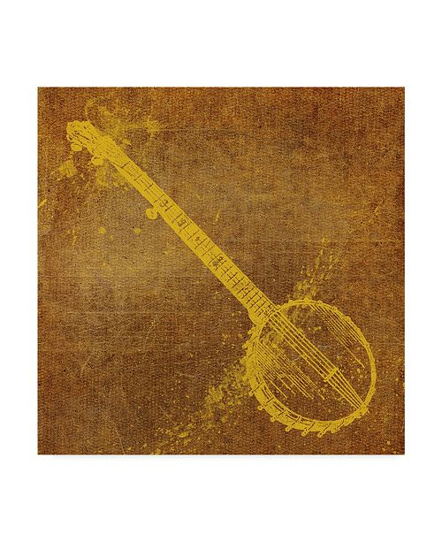 "Trademark Global John W. Golden 'Banjo' Canvas Art - 24"" x 24"""