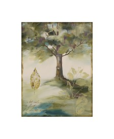 "Lisa Audit 'Hopes and Greens IV' Canvas Art - 35"" x 47"""