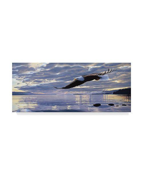 """Trademark Global Ron Parker 'Dawn Flight' Canvas Art - 8"""" x 19"""""""