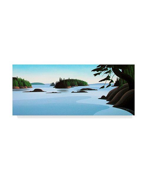 """Trademark Global Ron Parker 'Islands' Canvas Art - 20"""" x 47"""""""
