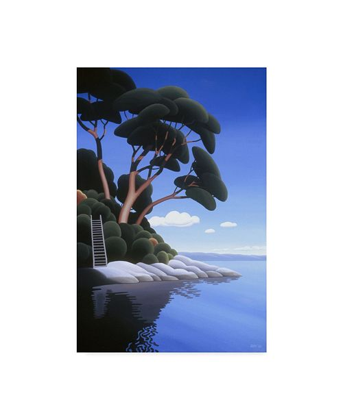 "Trademark Global Ron Parker 'Arbutus Cove' Canvas Art - 30"" x 47"""