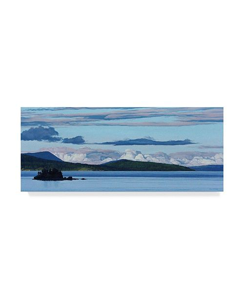 "Trademark Global Ron Parker 'Swartz Bay Evening' Canvas Art - 20"" x 47"""