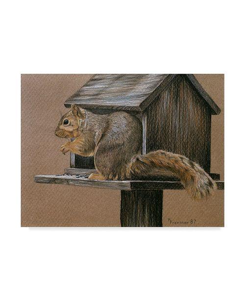 "Trademark Global Rusty Frentner 'Burglar' Canvas Art - 35"" x 47"""