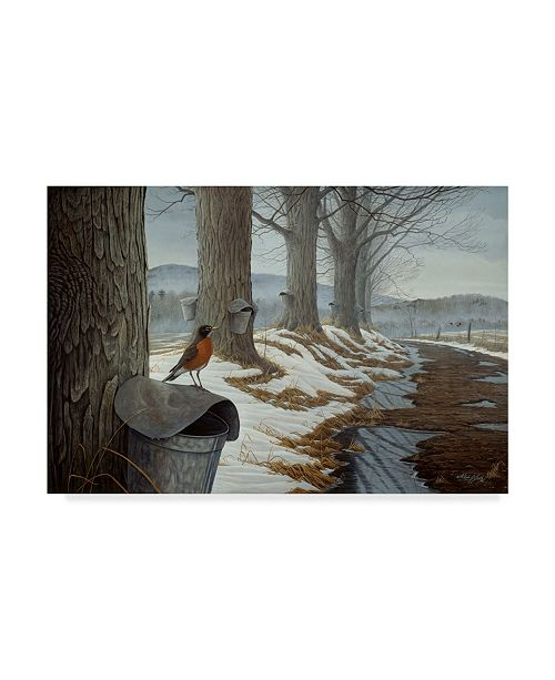 "Trademark Global Wilhelm Goebel 'March Into Spring' Canvas Art - 22"" x 32"""