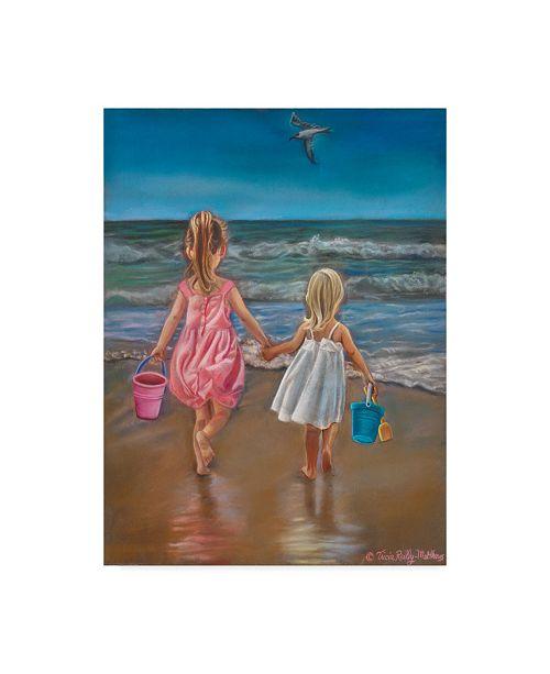 "Trademark Global Tricia Reilly-Matthews 'Hold My Hand' Canvas Art - 35"" x 47"""