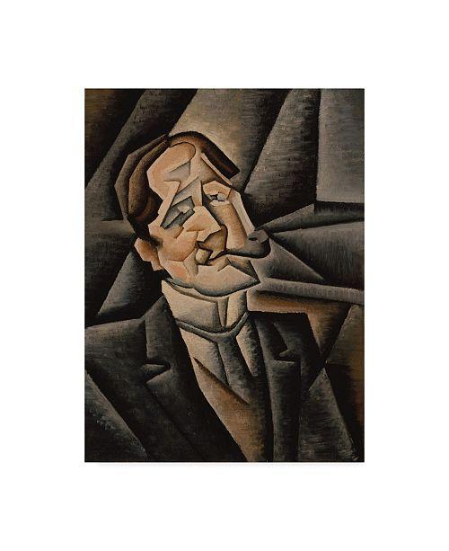 """Trademark Global Juan Gris 'Juan Legua, 1911' Canvas Art - 24"""" x 32"""""""