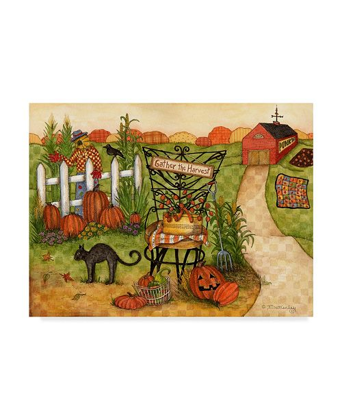 "Trademark Global Robin Betterley 'Gather The Harvest' Canvas Art - 24"" x 18"""