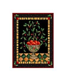 "Robin Betterley 'Apples In Dish' Canvas Art - 35"" x 47"""