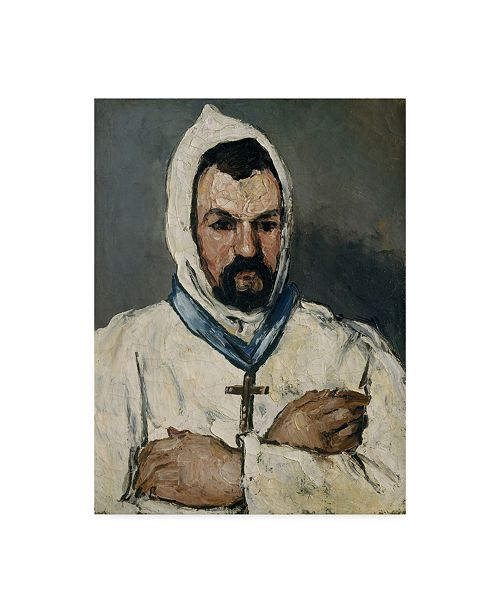 """Trademark Global Paul Cezanne 'The Artists Uncle' Canvas Art - 32"""" x 24"""""""