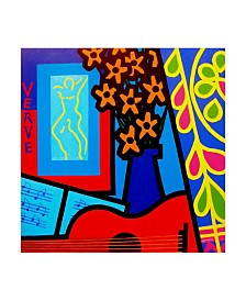 "John Nolan 'Still Life With Matisses Verve' Canvas Art - 35"" x 35"""