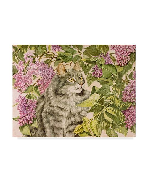 "Trademark Global Jan Benz 'Spring Fever Tiger' Canvas Art - 32"" x 24"""