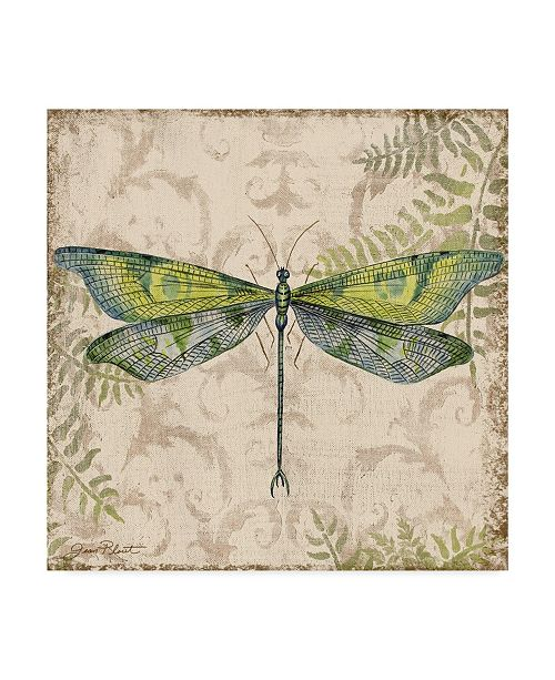 """Trademark Global Jean Plout 'Dragonfly Daydreams 3' Canvas Art - 35"""" x 35"""""""