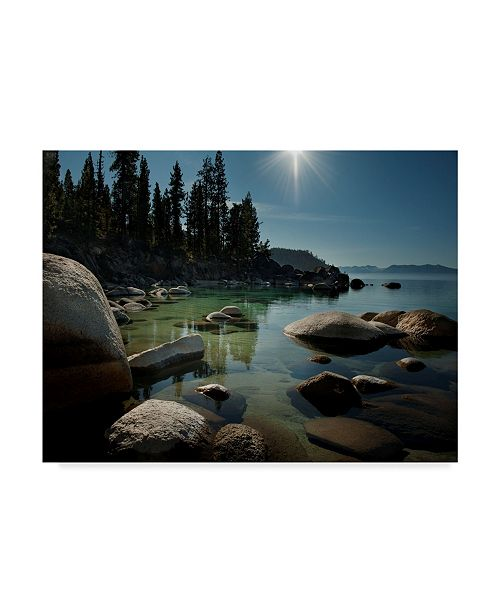 "Trademark Global Natalie Mikaels 'Heaven Over Tahoe' Canvas Art - 47"" x 35"""