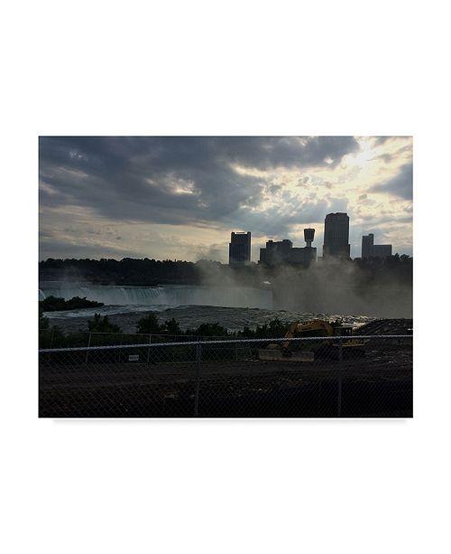 "Trademark Global Nina Marie 'Niagara Falls Water' Canvas Art - 32"" x 24"""