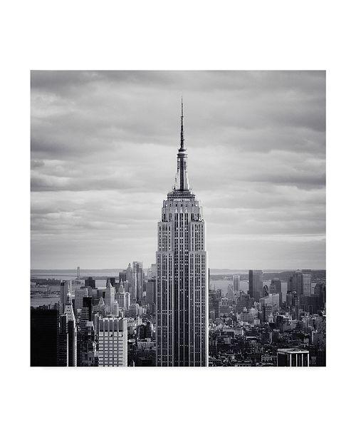 "Trademark Global Nina Papiorek 'NYC Empire' Canvas Art - 24"" x 24"""