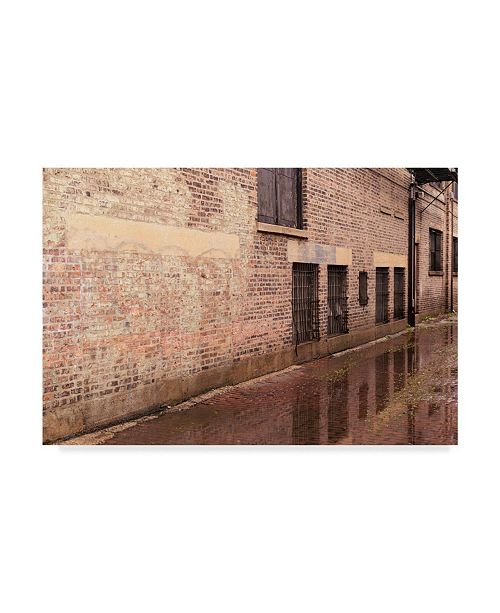 "Trademark Global Njr Photos 'The Alley' Canvas Art - 24"" x 16"""