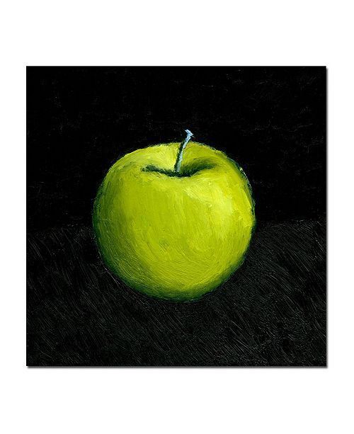 "Trademark Global Michelle Calkins 'Green Apple Still Life' Canvas Art - 35"" x 35"""
