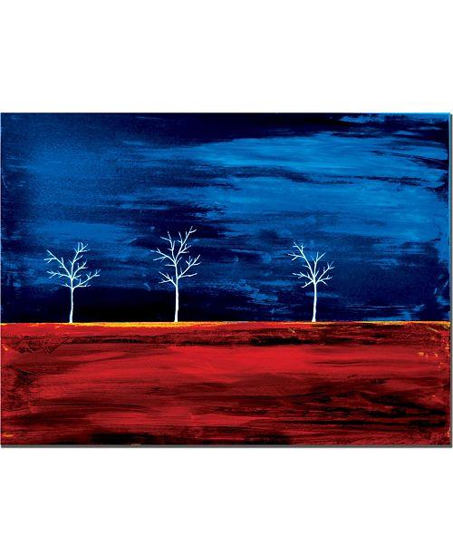 "Trademark Global Nicole Dietz 'Scorched' Canvas Art - 47"" x 35"""
