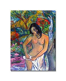 "Manor Shadian 'Bath' Canvas Art - 32"" x 22"""