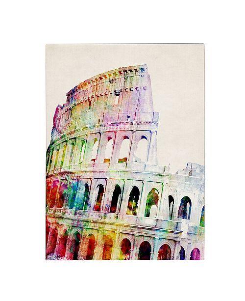 "Trademark Global Michael Tompsett 'Colosseum' Canvas Art - 32"" x 24"""