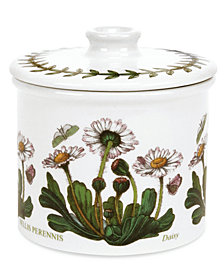 Portmeirion Dinnerware, Botanic Garden Covered Sugar Bowl