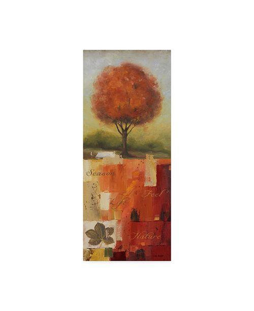 "Trademark Global Lisa Audit 'Feel Nature I' Canvas Art - 14"" x 32"""