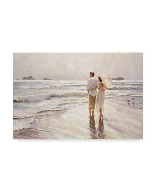 "Trademark Global Steve Henderson 'The Way It Should Be' Canvas Art - 12"" x 19"""