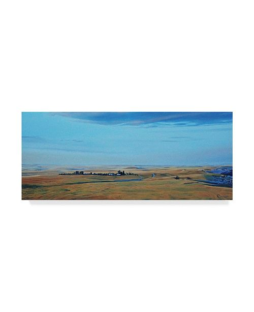 "Trademark Global Ron Parker 'Prairie Evening' Canvas Art - 14"" x 32"""